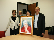 Quadro in memoria di Giovanna BERTELEGNI (click to enlarge)